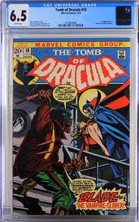 Marvel Comics Tomb of Dracula #10 CGC 6.5