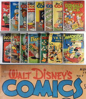 Dell Comics Walt Disney Golden Age Group
