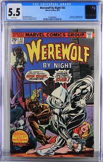 Marvel Comics Werewolf by Night #32 CGC 5.5
