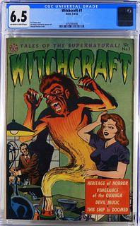 Avon Comics Witchcraft #1 CGC 6.5