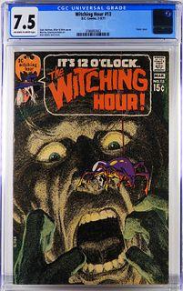 DC Comics Witching Hour #13 CGC 7.5