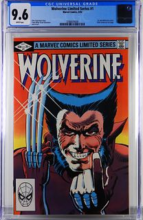 Marvel Comics Wolverine Limited Series #1 CGC 9.6