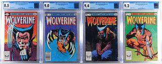 Marvel Comics Wolverine Limited Series #1-#4 CGC