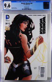 DC Comics Wonder Woman #38 Finch Variant CGC 9.6