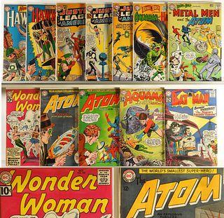 12PC DC Comics Hawkman Atom JLA Wonder Woman Group
