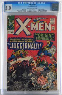 Marvel Comics X-Men #12 CGC 5.0