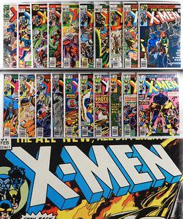 56PC Marvel Comics X-Men #38-#221 & GS KS Group