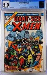 Marvel Comics Giant-Size X-Men #1 CGC 5.0
