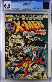 Marvel Comics X-Men #94 CGC 6.5