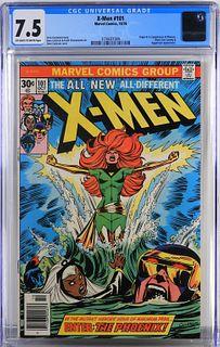 Marvel Comics X-Men #101 CGC 7.5