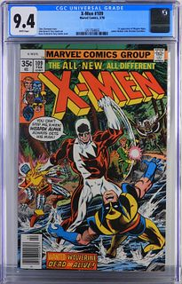 Marvel Comics X-Men #109 CGC 9.4
