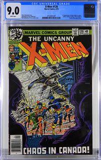 Marvel Comics X-Men #120 CGC 9.0