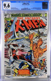 Marvel Comics X-Men #121 CGC 9.6