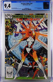 Marvel Comics Uncanny X-Men #164 CGC 9.4