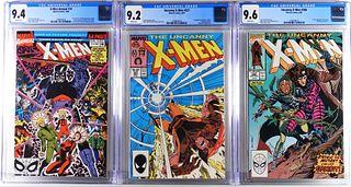3PC Marvel Comics Uncanny X-Men CGC Key Group