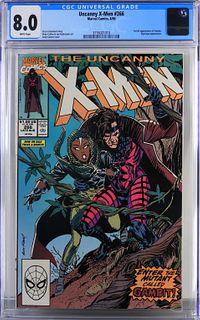 Marvel Comics Uncanny X-Men #266 CGC 8.0