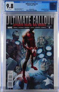 Marvel Comics Ultimate Fallout #4 CGC 9.8