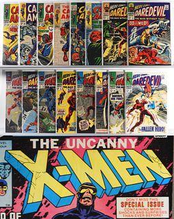 36PC Marvel Comics Captain America Daredevil X-Men