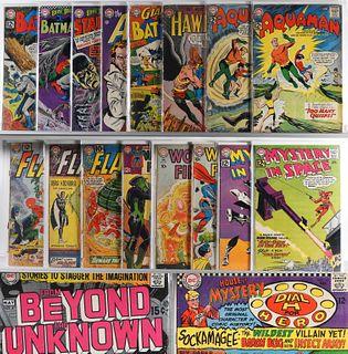 25PC DC Comics Silver Age Comic Group