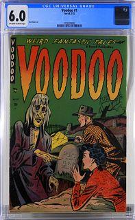 Farrell Comics Voodoo #1 CGC 6.0