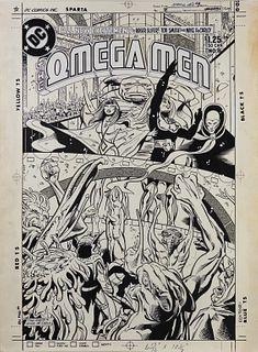 Tod Smith Mike De Carlo Omega Men #8 Cover Art