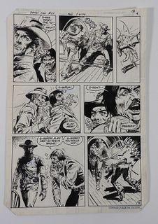 Ross Andru Tony DeZuniga Jonah Hex 57 Original Art