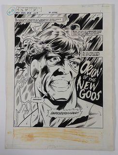 Don Newton Dan Adkins New Gods #14 Original Art