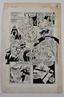 Tod Smith Mike DeCarlo Omega Men #10 Original Art