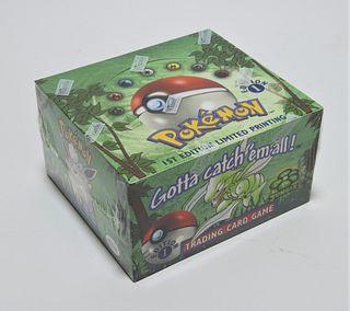 Pokemon Jungle 1st Ed. Booster Box Factory Sealed