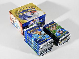31PC Pokemon Base Green-Wing Part. Booster Box