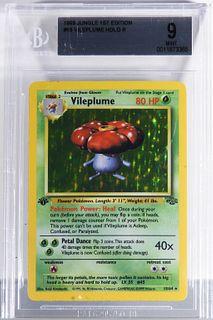 1999 Pokemon Jungle 1st Ed. Vileplume BGS 9