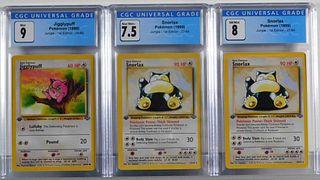 3PC 1999 Pokemon Jungle 1st Ed Jigglypuff Snorlax