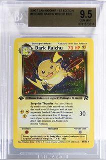 Pokemon Team Rocket 1st Ed Dark Raichu Err BGS 9.5