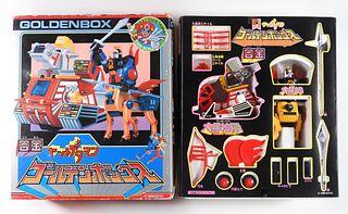Takatoku Toys Yattodettaman Golden Box Gift Set