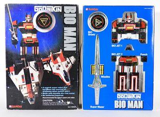 1984 Bandai GoDaikin Bioman Chogokin Robot Mint
