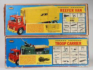 2PC Topper Johnny Express Troop Carrier Reefer Van