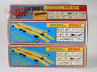 3PC Topper Toys Johnny Express Bridge Pipe Kit