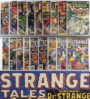 18PC Marvel Comics Strange Tales #127-#188 Group