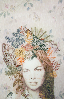 CHELSEA REVELLE '07, Embroidered Personal Photograph Commission
