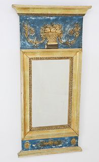 Swedish Trumeau Mirror, circa 1830