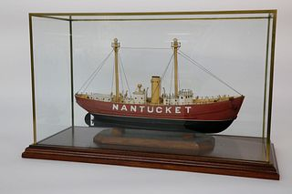 "Cased Model of the ""Nantucket Lightship"""