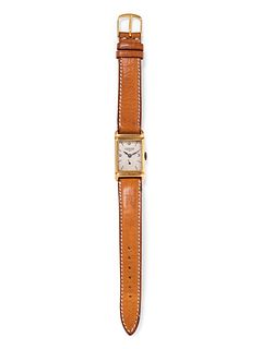 LONGINES, 18K YELLOW GOLD WRISTWATCH