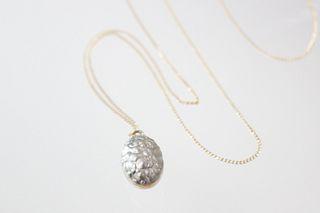 Janus Pendant with Gold