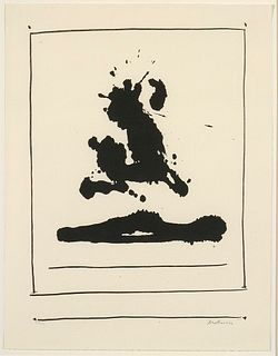 Robert Motherwell, Untitled, 1966