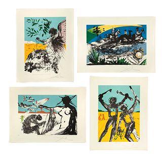 Salvador Dali, Peace in Vietnam Suite, 1973