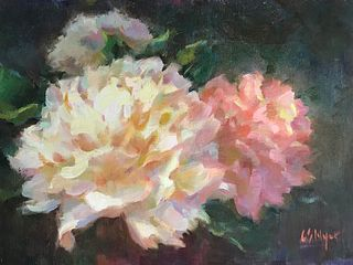 Carol Myer Peony for Your Thoughts