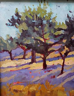Patti Titman Morning Light on Miwok Hill