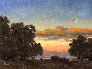 Richard Lindenberg New Moon Dusk