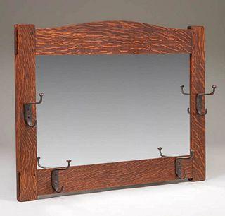 L&JG Stickley Hall Mirror c1905-1907