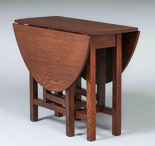 Limbert Drop Leaf Table c1910